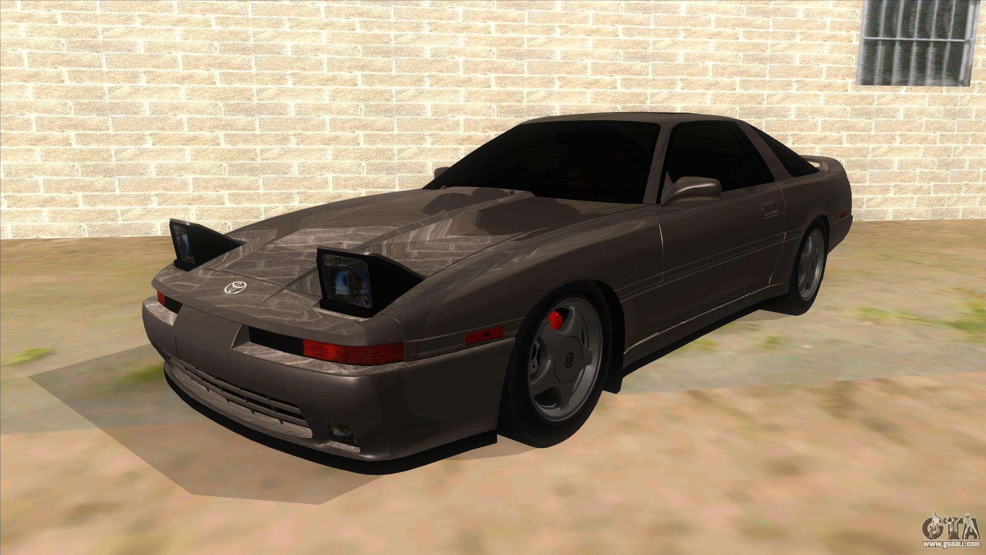 Toyota Supra 2 5Gt 1992 for GTA San Andreas