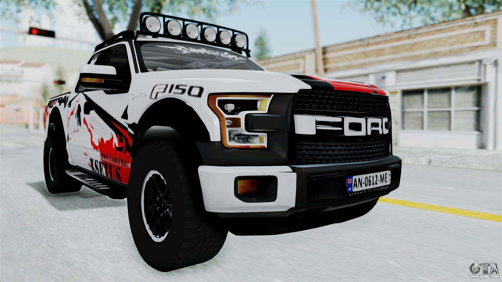 ford f 150 raptor 2015 for gta san andreas. Black Bedroom Furniture Sets. Home Design Ideas