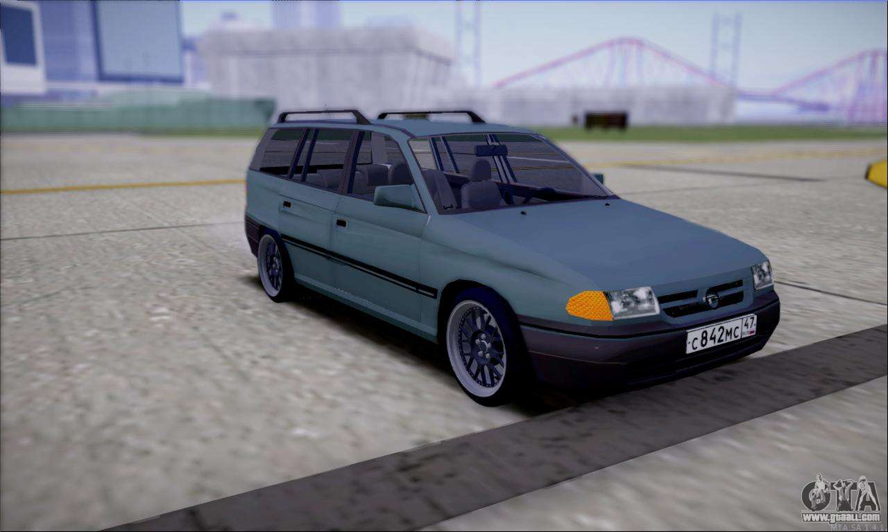 opel astra for gta san andreas. Black Bedroom Furniture Sets. Home Design Ideas