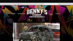 The body shop benny's in single mode
