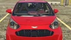 2011 Aston Martin Cygnet 1.0 [Replace] for GTA 5