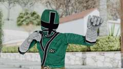 Power Rangers Samurai - Green for GTA San Andreas