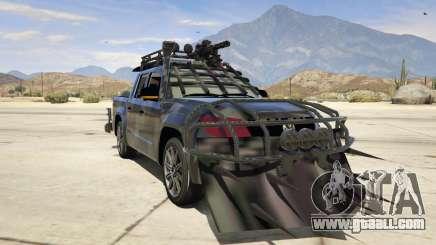 Volkswagen Amarok Apocalypse for GTA 5