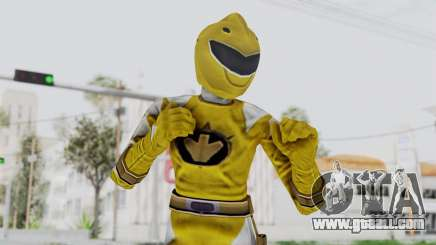 Power Rangers Dino Thunder - Yellow for GTA San Andreas