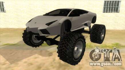Lamborghini Reventon Monster Truck for GTA San Andreas