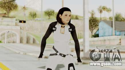 ME3 Dr. Eva Custom Miranda Castsuit for GTA San Andreas