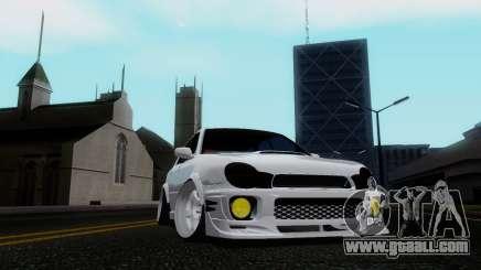 Subaru Impreza WRX STi Wagon Stens for GTA San Andreas