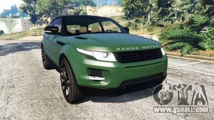 Range Rover Evoque v2.0 for GTA 5