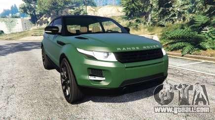Range Rover Evoque v2.0 for GTA 5