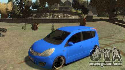 Nissan Note for GTA 4