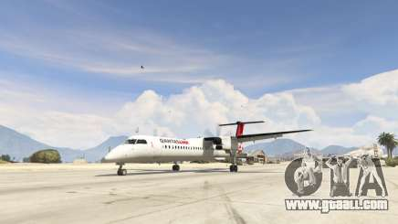 Bombardier Dash 8Q-400 for GTA 5