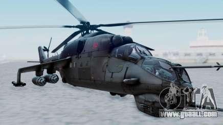 Mi-24V Russian Air Force 39 for GTA San Andreas