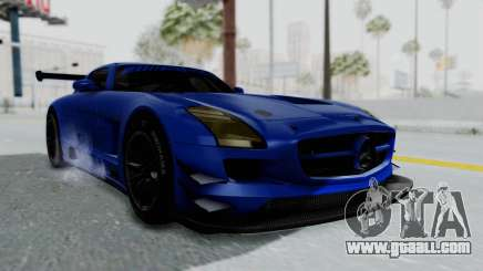 Mercedes-Benz SLS AMG GT3 PJ5 for GTA San Andreas