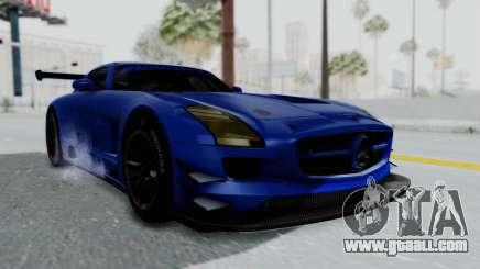 Mercedes-Benz SLS AMG GT3 PJ5 for GTA San Andreas