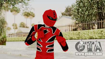 Power Rangers Jungle Fury - Red for GTA San Andreas
