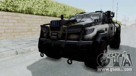 Advanced Warfare Tactical Pickup for GTA San Andreas
