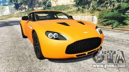 Aston Martin V12 Zagato v1.2 for GTA 5