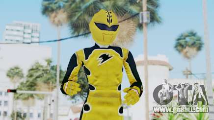 Power Rangers Jungle Fury - Yellow for GTA San Andreas