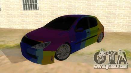 Iranian Peugeot 206 Sport for GTA San Andreas