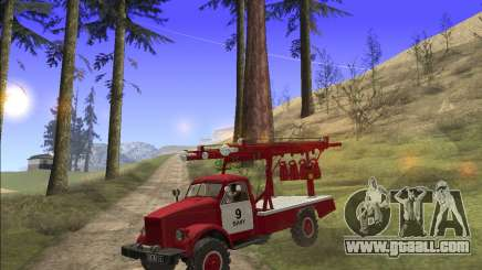 GAS 63 APG-14 Fire truck for GTA San Andreas