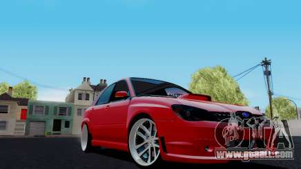 Subaru Impreza WRX STi Wagon Fox 2007 for GTA San Andreas