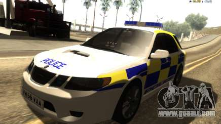 SAAB 9-2 Aero Turbo Generic UK Police for GTA San Andreas