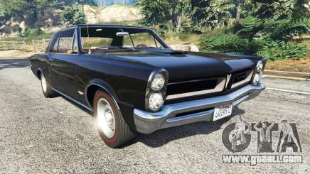 Pontiac Tempest Le Mans GTO 1965 for GTA 5