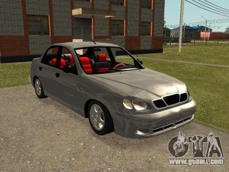 Daewoo Lanos (Sens) 2004 v1.0 by Greedy for GTA San Andreas