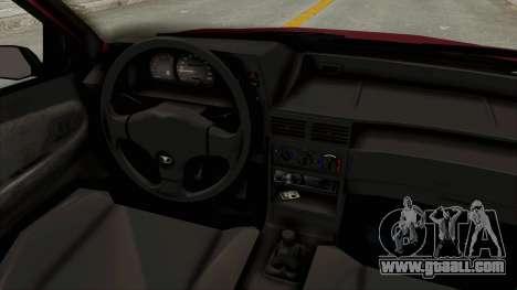 Daewoo Cielo 1.5 GLS 1998 for GTA San Andreas inner view