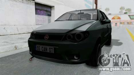 Fiat Albea for GTA San Andreas right view