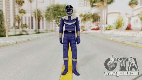 Power Rangers Time Force - Blue for GTA San Andreas second screenshot