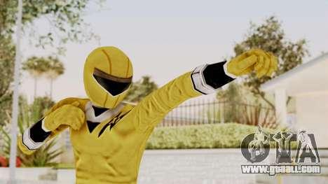 Alien Rangers - Yellow for GTA San Andreas