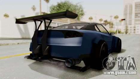 GTA 5 Annis Elegy Twinturbo Spec for GTA San Andreas back left view