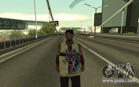 Grove Street Gang Member for GTA San Andreas