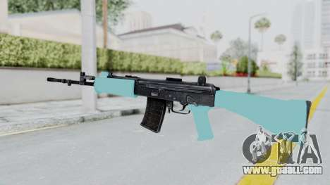 IOFB INSAS Light Blue for GTA San Andreas second screenshot