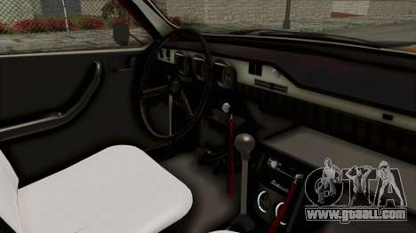 Dacia 1310 WNE for GTA San Andreas inner view