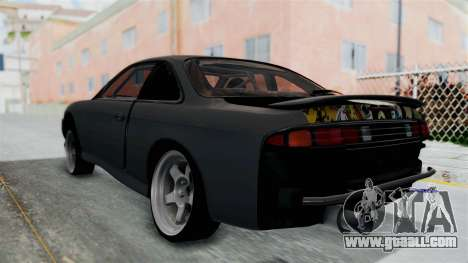 Nissan Silvia S14 for GTA San Andreas left view