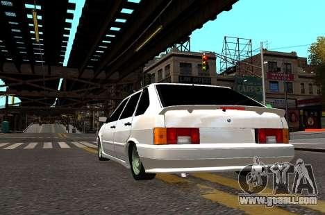 VAZ 2114 Brodyaga for GTA 4 back view