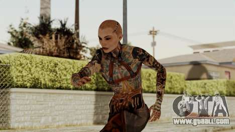 Mass Effect 2 Jack for GTA San Andreas