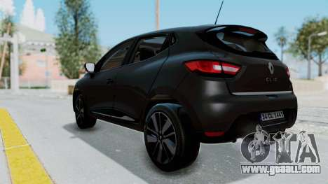 Renault Clio 4 IVF for GTA San Andreas left view