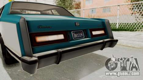 GTA 5 Dundreary Virgo Classic IVF for GTA San Andreas upper view