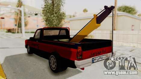 Mazda Tow Truck Pickup for GTA San Andreas right view