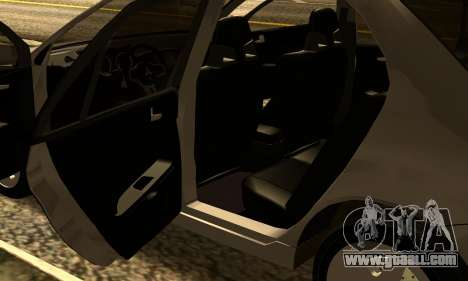 Mitsubishi Lancer 2005 for GTA San Andreas inner view