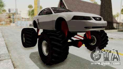 Ford Mustang 1999 Monster Truck for GTA San Andreas right view