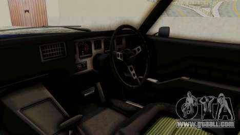 Holden Monaro GTS 1971 AU Plate IVF for GTA San Andreas inner view
