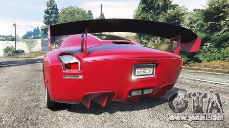 GTA 5 Devon GTX 2010 v0.1 rear left side view