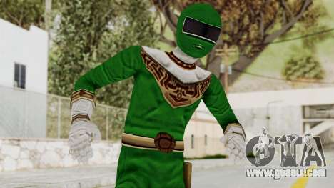 Power Ranger Zeo - Green for GTA San Andreas
