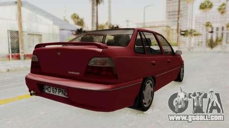 Daewoo Cielo 1.5 GLS 1998 for GTA San Andreas left view
