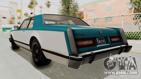 GTA 5 Dundreary Virgo Classic IVF for GTA San Andreas right view