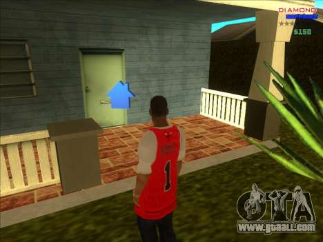 Chequer homes for ARP for GTA San Andreas sixth screenshot